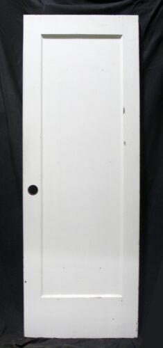 """20avail 28""""x80"""" Antique Vintage Old SOLID Wood Wooden Interior Door Single Panel"""