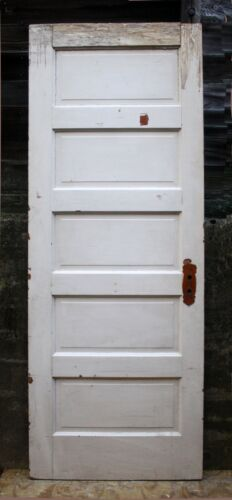 """2 available 30""""x80"""" Antique Vintage Old SOLID Wood Wooden Interior Door Panels"""