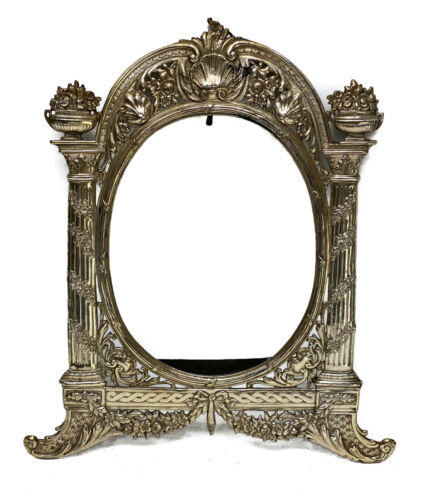 Georg Roth German Hanau Silver Ornate Photo Frame. Empire Style
