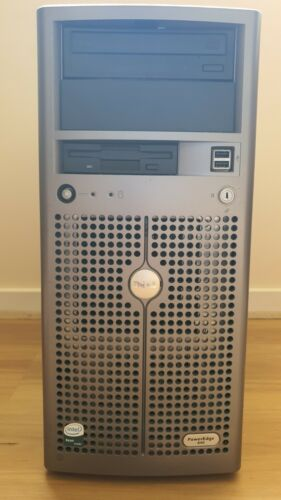 Dell PowerEdge Server 840 And Dell Monitor