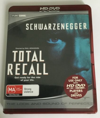 HD DVD TOTAL RECALL - SCHWARZENEGGER -VGC CHEAPEST ON EBAY SEE MY OTHER HD DVDs