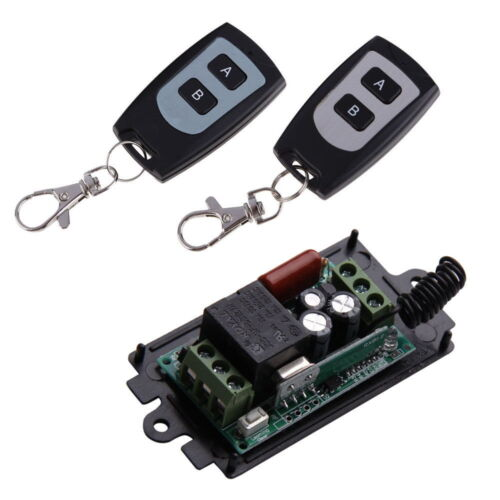 220V 10A 1CH Channel Wireless on off Relay Waterproof Remote Control Switch RF