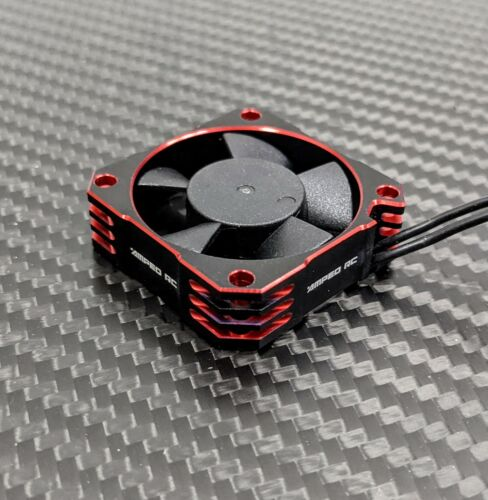 Amped RC Red 36mm 21000rpm Cooling Fan 5.0v-8.5v MAX6 BLX185 FIRMA150