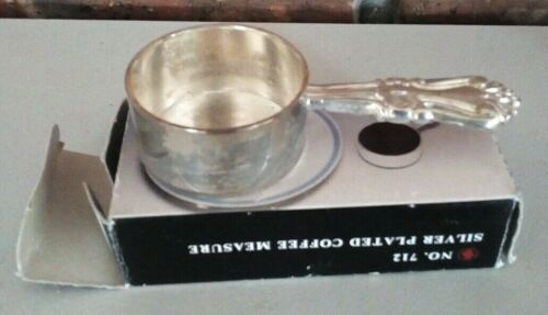 SILVER PLATED COFFEE MEASURE..VINTAGE Made in CHINA