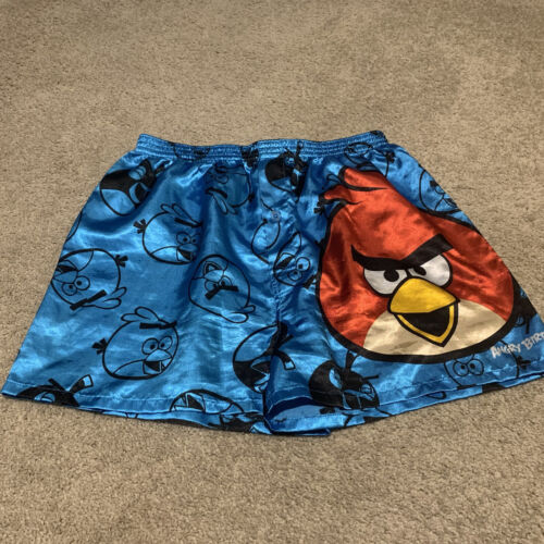 Vintage Angry Birds Satin Boxers
