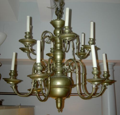 18th Century Dutch Chandelier - WILLING TO DELIVER