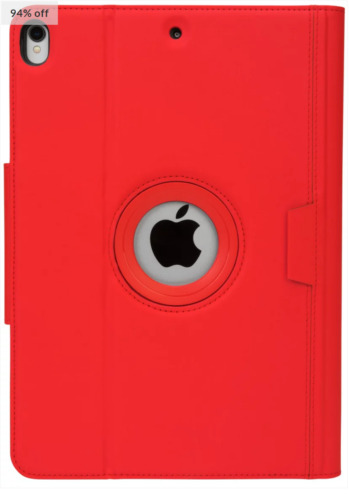 TARGUS VersaVu® Classic Case for 10.5-inch iPad Pro THZ67103GL Flame Scarlet/Red