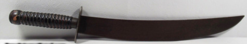 RARE ! HUGE ANTIQUE NORTH CAROLINA CONFEDERATE SIDE KNIFE - Bowie Dagger SwordEdged Weapons - 36037
