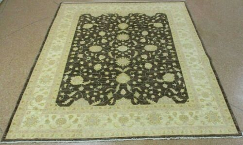 "8'2"" x 9'8"" Tribal Hand Knotted Area Rug No: H 139864"
