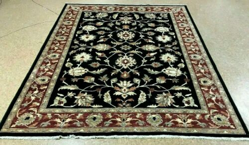 """8'1"""" x 9'10"""" Tribal Hand Knotted Area Rug No: H 145693"""