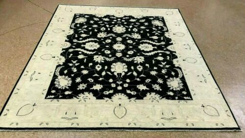 "8'2"" x 9'8"" Tribal Hand Knotted Area Rug No: H 142480"