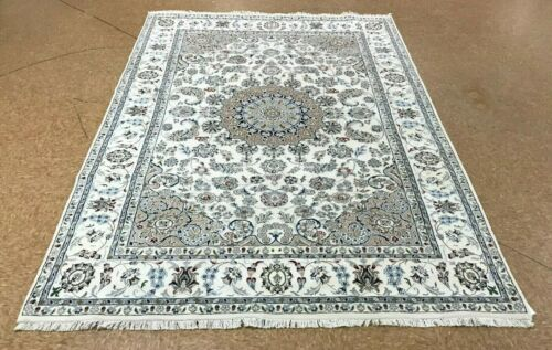 """6'3"""" x 9' Tribal Hand Knotted Round Area Rug No: H 142033"""