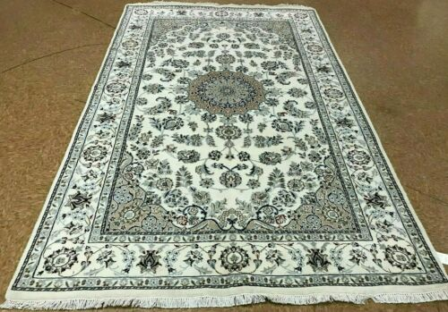 """5'1"""" x 8'1"""" Tribal Hand Knotted Round Area Rug No: H 145758"""
