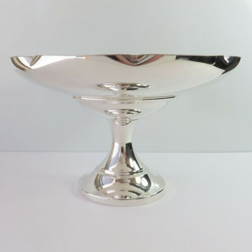 Vintage Imperial Silverplate Fruit Serving Stand Dish/Bowl Compote