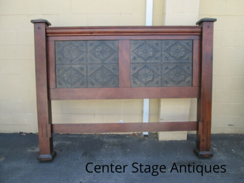 DG 03:   Cherry King Size Headboard with Decorative Inserts