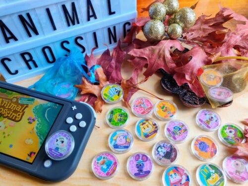 Animal Crossing New Horizons ACNH Amiibo 450+ Coin Card Chip NFC Switch