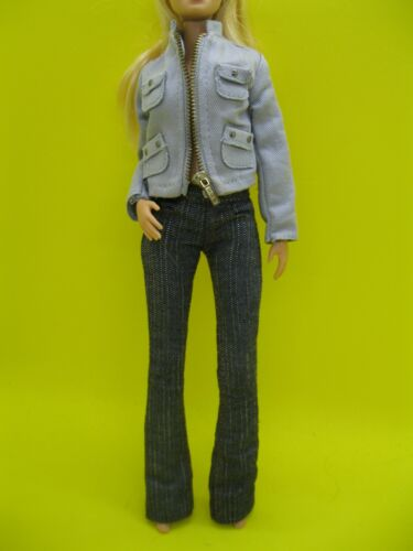 BARBIE DOLL TWILIGHT BELLA PARTIAL OUTFIT - JEANS AND JACKET