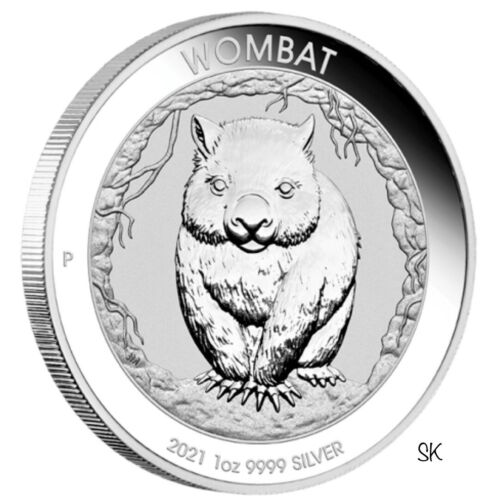2021 Wombat 1oz Silver Coin