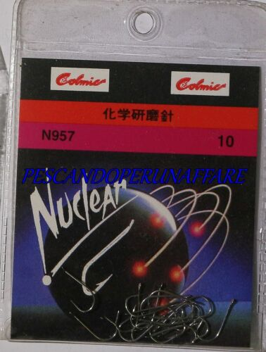 COLMIC NUCLEAR SERIES N957 carbon steel hooks made in japan