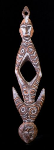 Old double headed suspension hook  New Guinea
