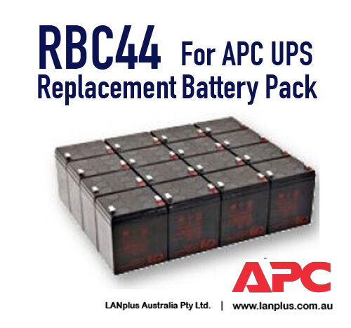 CSB OEM RBC44 Replacement Battery for APC Smart UPS RT3000 RT5000 RT6000 RT8000