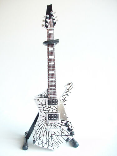 Guitare miniature Ibanez cracked mirror – Paul Stanley – KISS