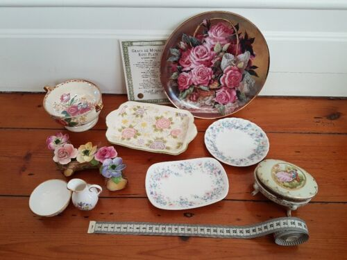 Wedgwood, Maling, Spode, floral themed collectables and ornaments