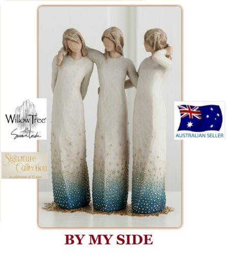 BY MY SIDE Demdaco Willow Tree Figurine By Susan Lordi NEW SIGNATURE COLLECTION
