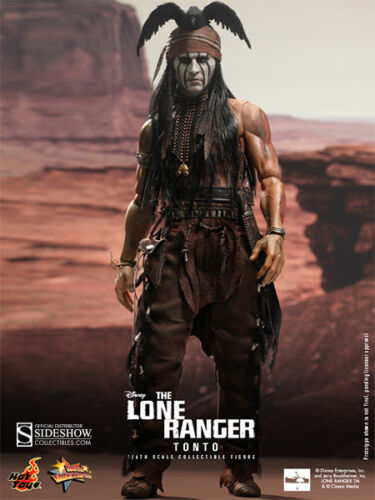 Hot Toys The Lone Ranger Tonto Sixth Scale Figure: MMS217 - Johnny Depp
