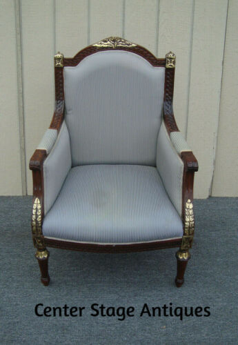 00001  Decorator Bergere Armchair Chair