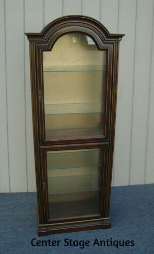 00001  JASPER Furniture Curio Cabinet China Display Showcase