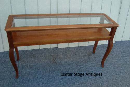 56539 STANLEY Solid Cherry Sofa Hall Table Stand Sideboard Server