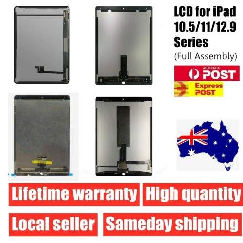 iPad Pro 10.5 12.9 11 Air 3 LCD Touch Screen Digitizer Replacement Assembly