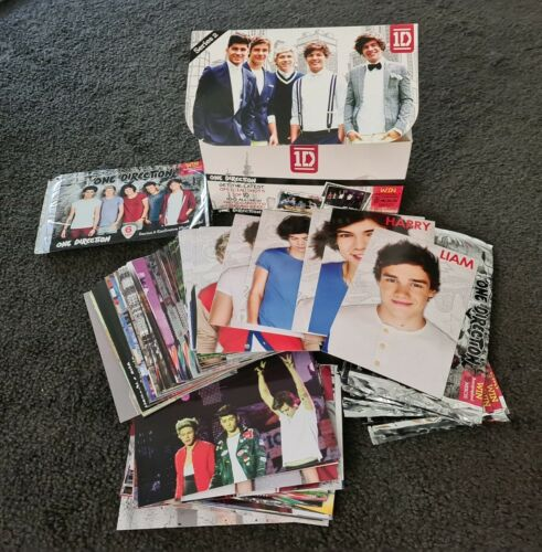 1d One Direction official Collector Cards In Box (Opened) - series 2