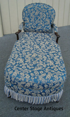 61801 Queen Anne Fainting Couch Chaise Lounge Chair