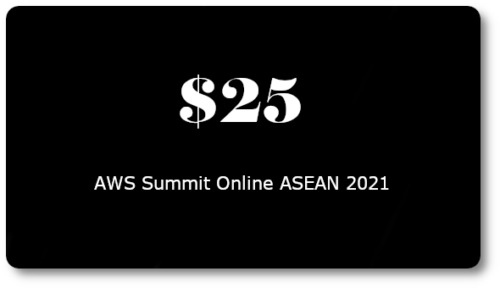 $25 AWS Promo Credit Code (Only 1 Code per AWS Account). Event: May 2021 <br/> ⚡Instant Digital Delivery