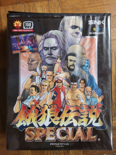 FATAL FURY SPECIAL NEO GEO AES JAP