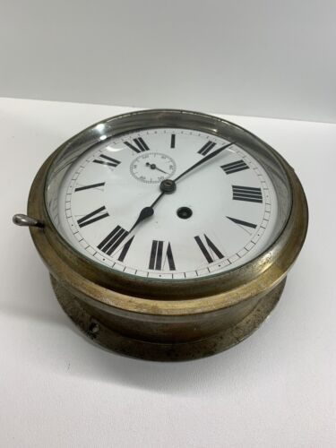 Ships Clock - Vintage Working Condition