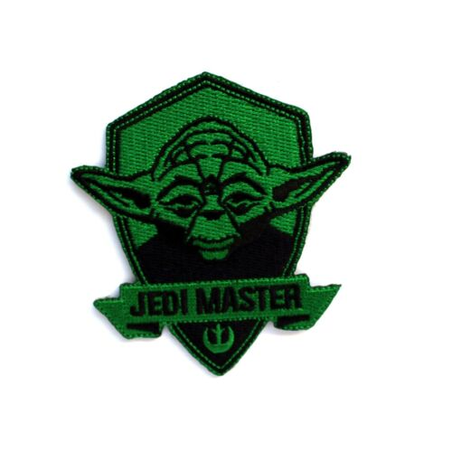 Star Wars Yoda Embroidered and Iron on Patch
