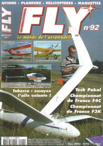 FLY N°92 COUGAR / TIGER BIPE 40 / ECO 8 IKARUS / MDS 148/ TABORCA : AILE VOLANTE