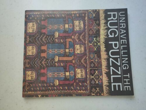 Vintage book/exhibition catalogue: Unravelling the Rug Puzzle