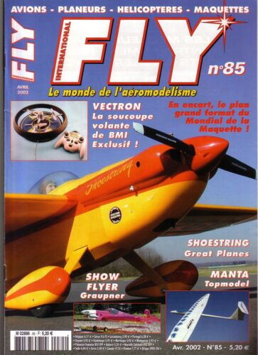 FLY N° 85  PLAN : NHALYN 2002 V4 / SHOW FLYER / MANTA / SOUCOUPE VOLANTE