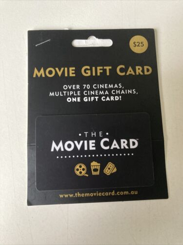 The Movie Gift Card $25
