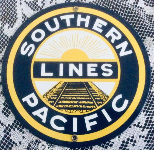 American Metal Railway Plaque: Southern Pacific Lines
