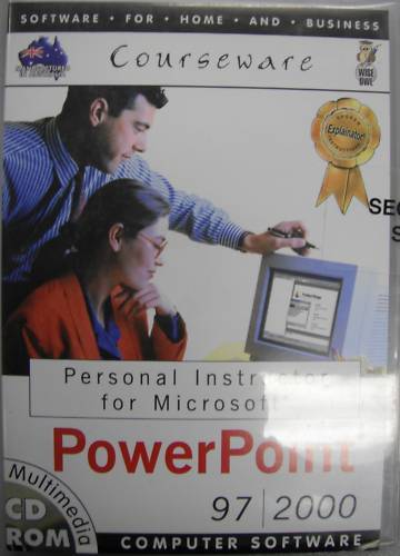 PERSONAL INSTRUCTOR MICROSOFT POWERPOINT 97/2000 Training