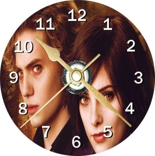 Twilight Alice and Jasper Cd Clock Can be personalised