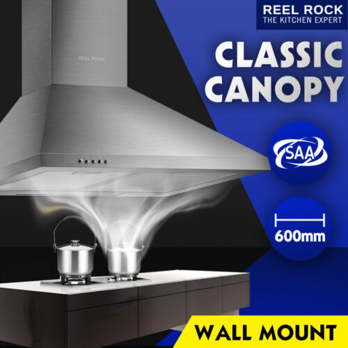 600mm 60cm Rangehood Stainless Steel Range Hood Kitchen Canopy <br/> Counting down to Christmas! Ace for early gifts!