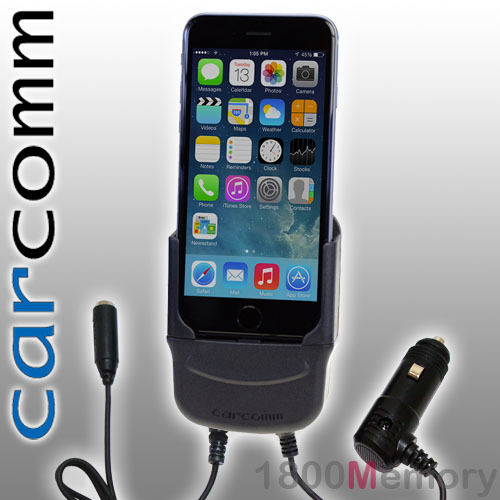 "Carcomm Power Cradle for Apple iPhone 8 7 4.7"" Car Charger w/ Antenna Coupler"