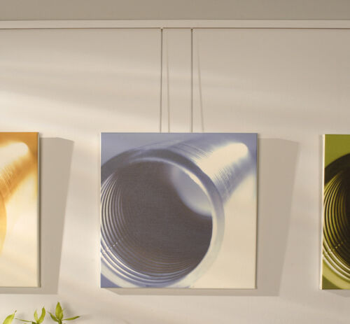 BOHLE ART STUDIO SILVER LOOPED PICTURE HANGING SYSTEM DLX KIT + FREE SAMPLE HOOK