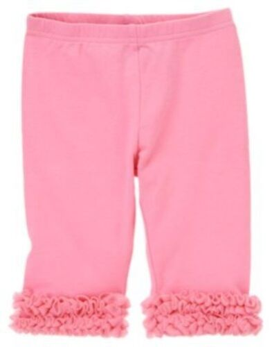GYMBOREE BUTTERFLY BLOSSOMS PINK TULLE CAPRI LEGGINGS 3 6 12 18 24 2T 3T 4T NWT